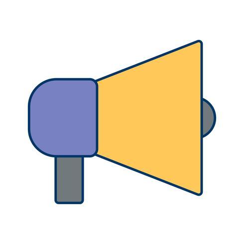 Vector icono de anuncio