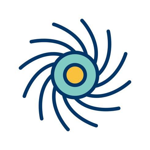Black Hole Vector Icon
