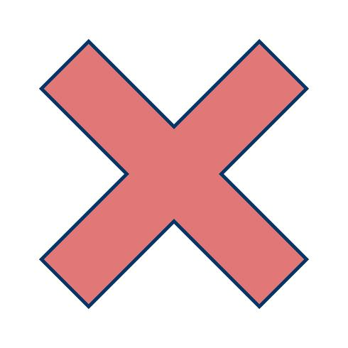 Vector Cancel Icon