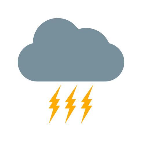storm vektor ikon
