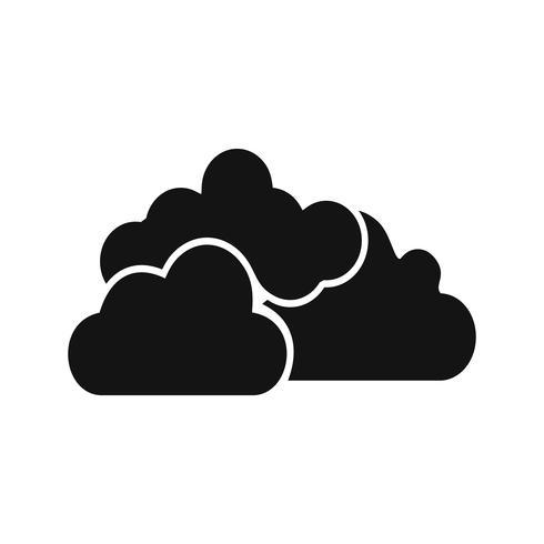 Cloudy Vector Icon