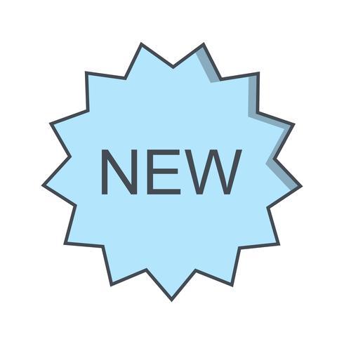 Vector novo ícone