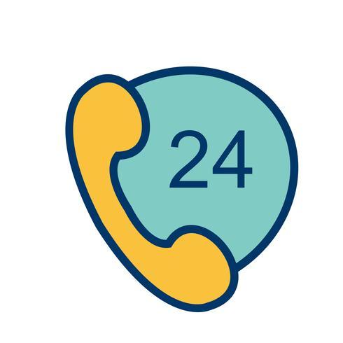 Vector Phone Services Icon