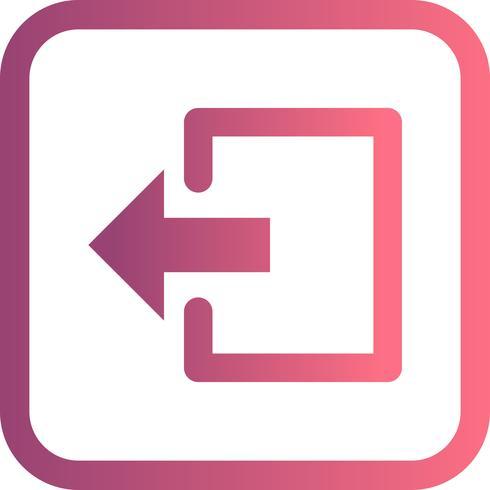Logout Vector Icon