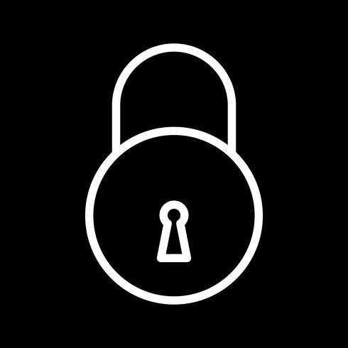 Icono de bloqueo de vector