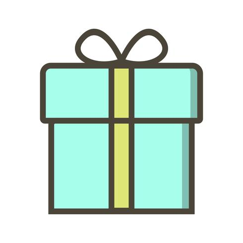 Vektor gåva ikon