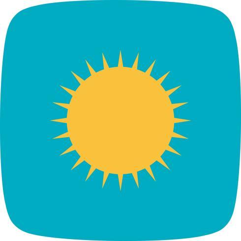 Icono de vector de sol