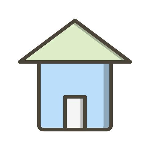 Icono de inicio de vector