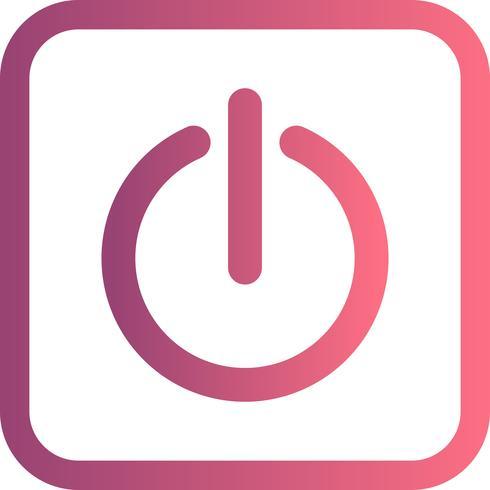 Shutdown Vector Icon