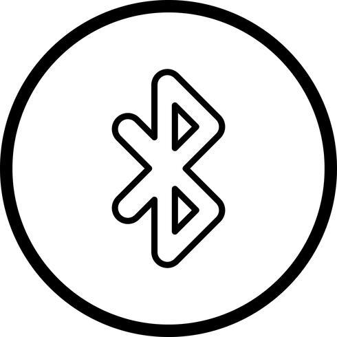Bluetooth-Vektor-Symbol vektor