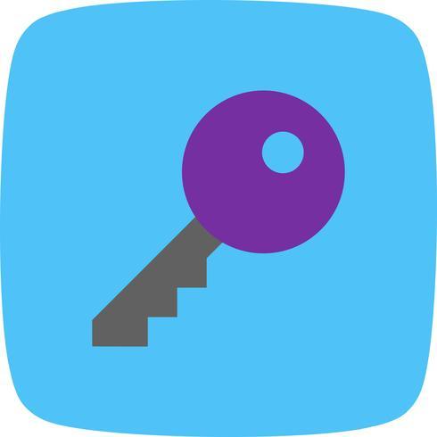 Vektor-Schlüssel-Symbol