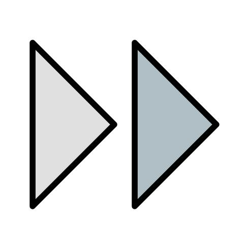 Vector Forward Arrows Icon