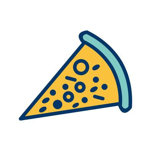 Vector icono de pizza