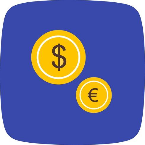Vector valuta pictogram