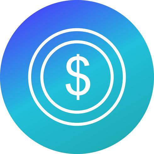 Vector Dollars Icon