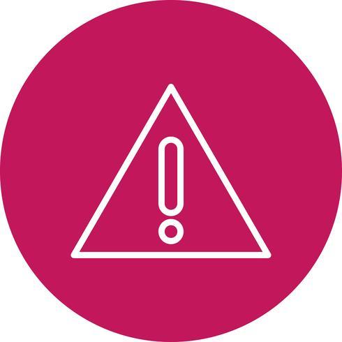 Warning board Vector Icon