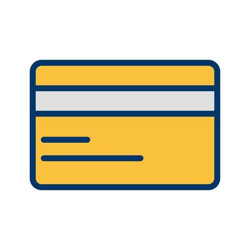 Vector icono de tarjeta de crédito