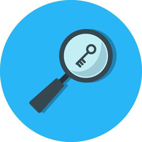 Vector Keyword Search Icon