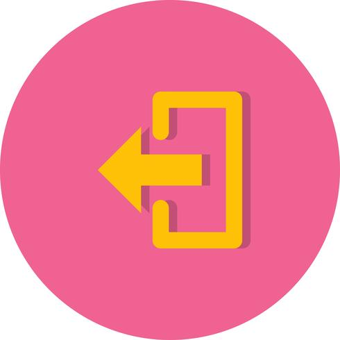 ícone de logout vector