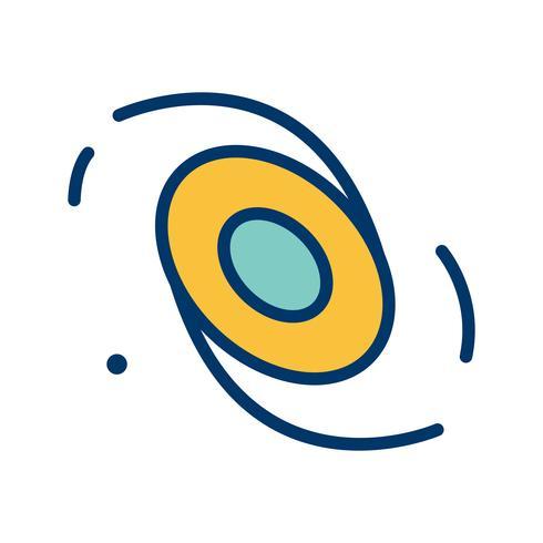 Galaxy Vector Icon