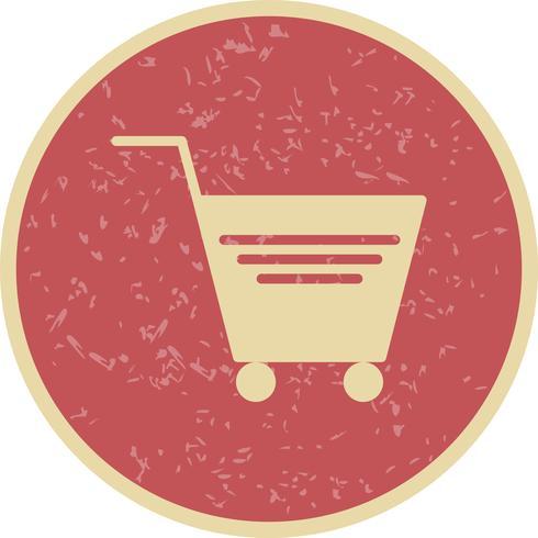 Vektor-Einkaufswagen-Symbol