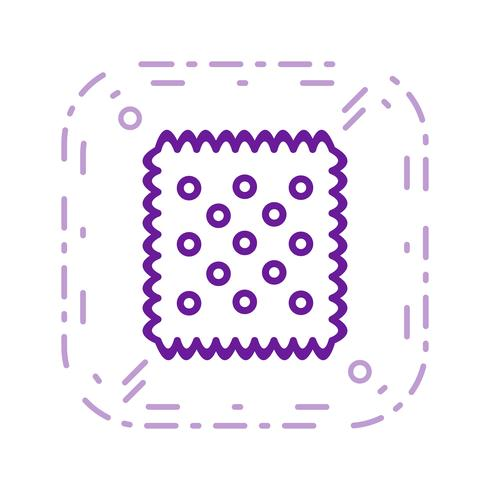 Vector Biscuit Icon