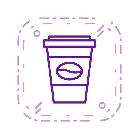 Vector icono de café