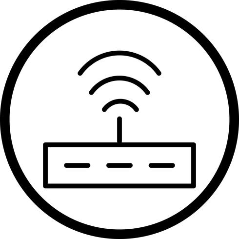Vector Router Icon