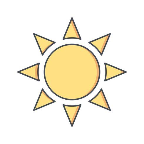 Ícone de vetor de brilho