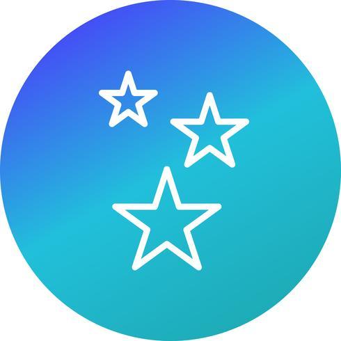Étoiles Vector Icon