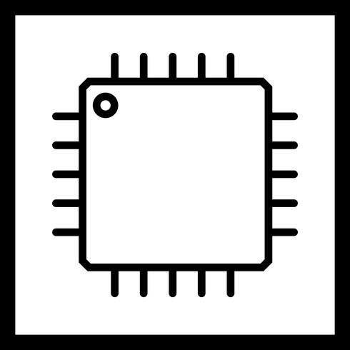 Vector processor pictogram