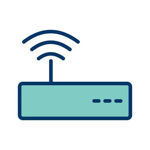 Icona di vettore WiFi