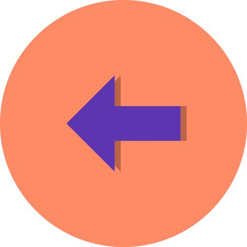 Linke Vektor-Symbol