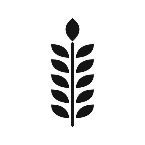 Icône de grain de vecteur