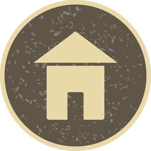 Ícone de vetor casa