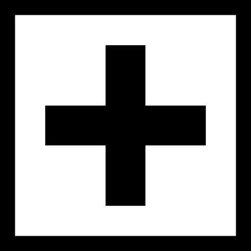 Além de ícone de vetor