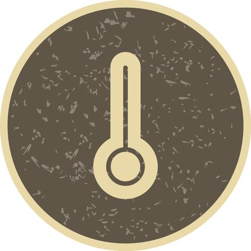 Ícone de vetor de temperatura