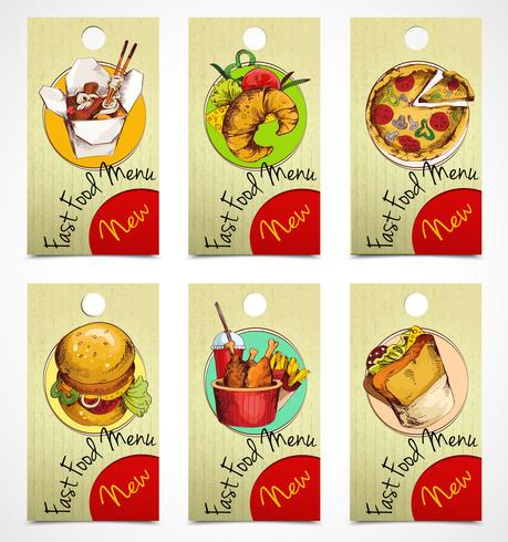 Fast food tags