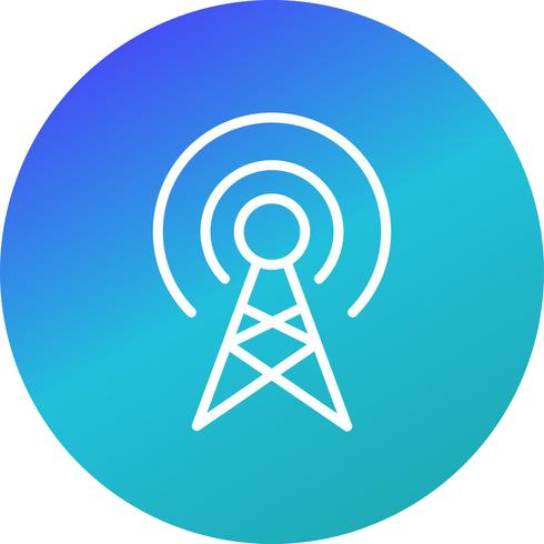 Icono de Vector de difusión