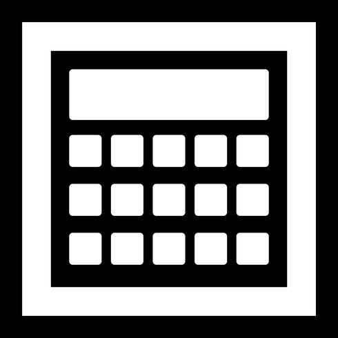 Vektor-Berechnungssymbol vektor