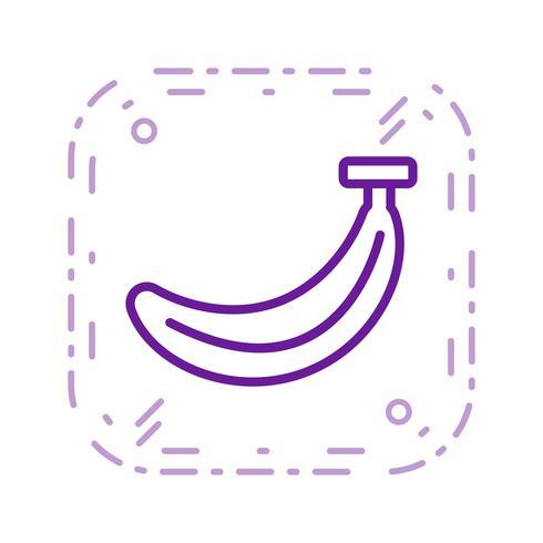 Vektor-Bananen-Symbol