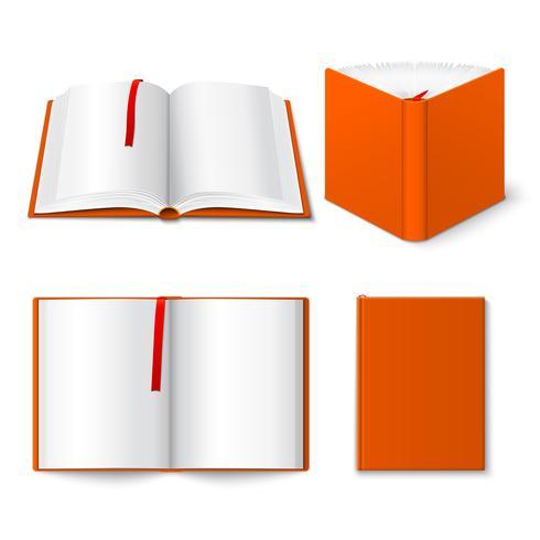 Conjunto de modelos de livro aberto