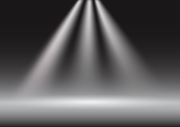 Spotlight Display Präsentationshintergrund vektor