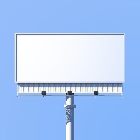 Outdoor Billboard Realistisch
