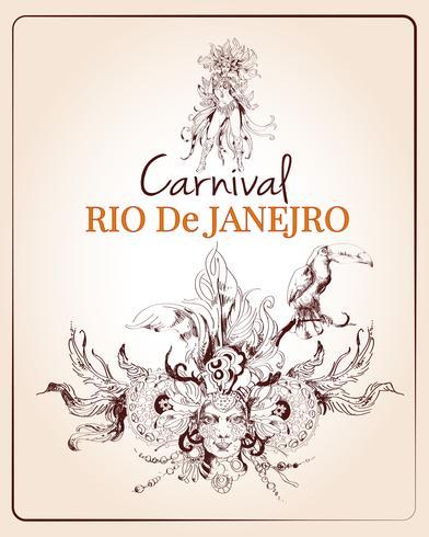 Rio karnevalaffisch