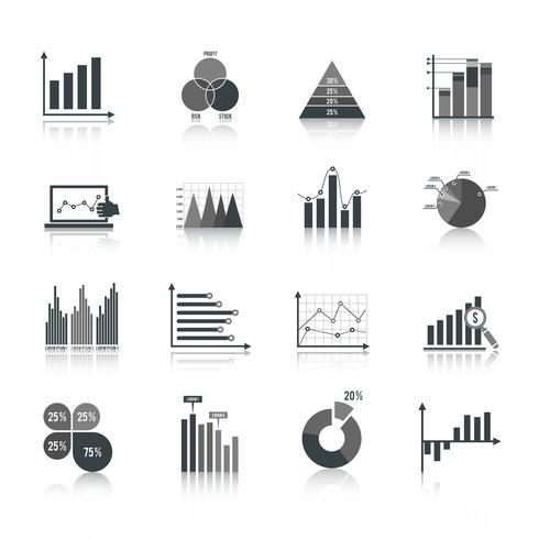 Affärssymboler set