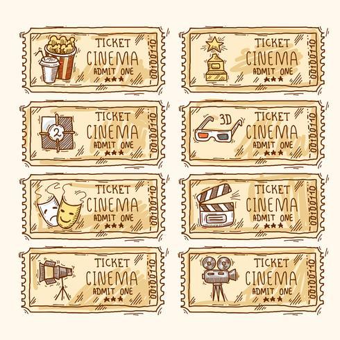 Set de entradas de cine