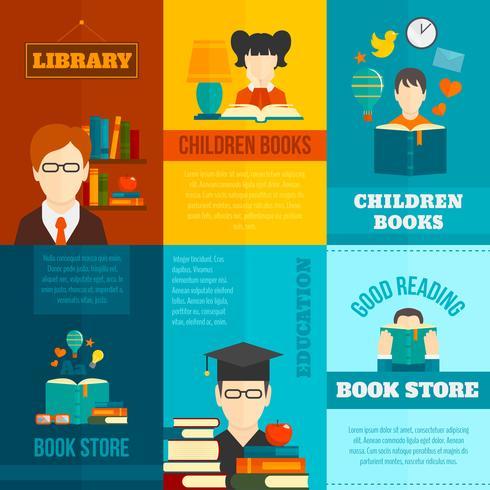 Set de póster de lectura