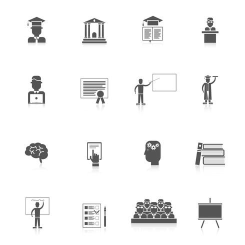 Higher Education Icon Set