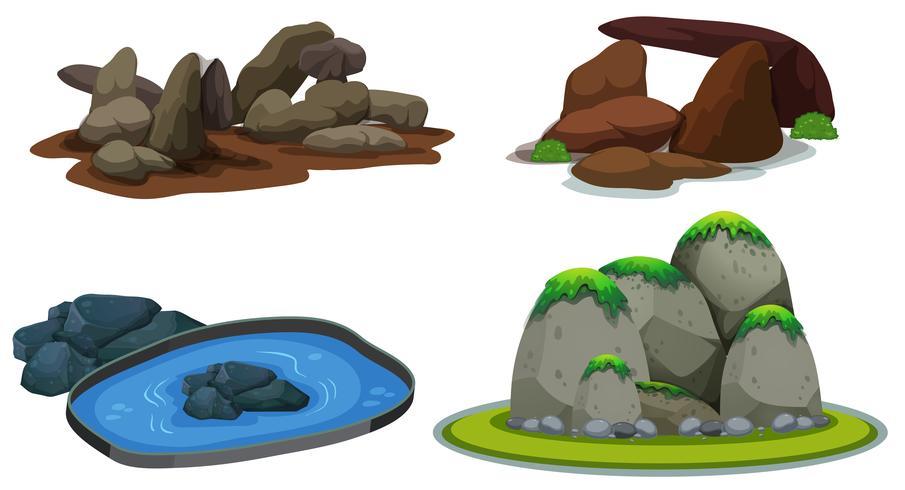Een Set van Nature Element